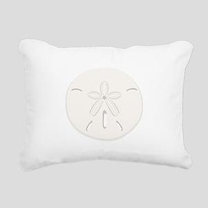Sand Dollar Rectangular Canvas Pillow