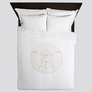 Sand Dollar Queen Duvet