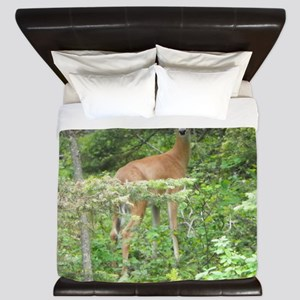 Whitetail Doe King Duvet