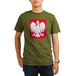 Polish Organic Men's T-Shirt (dark)
