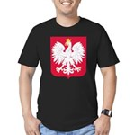 Polish Men's Fitted T-Shirt (dark)