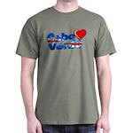 Cabo Verde Heart Dark T-Shirt