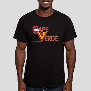 Cape Verde Cv Men's Fitted T-Shirt (dark)