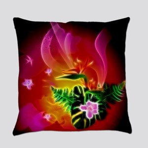Awesome flowers Everyday Pillow