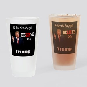 Trump Quote Drinking Glass