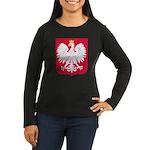 Polish Women's Dark Long Sleeve T-Shirt