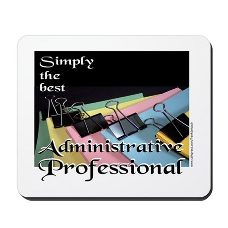 ADMINISTRATIVE PRO Mousepad by frankdeloach