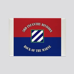 3ID Rock of The Marne Flag Magnets