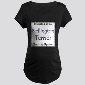 Bedlington Security Maternity Dark T-Shirt