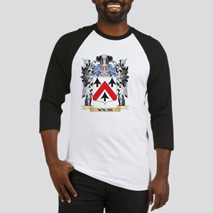 Walsh Coat of Arms - Family Crest Baseball Jersey