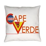 Cape Verde CV Everyday Pillow