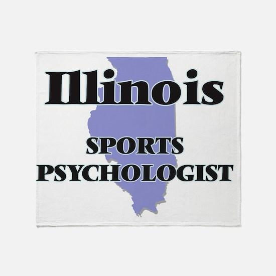 Illinois Sports Psychologist Throw Blanket