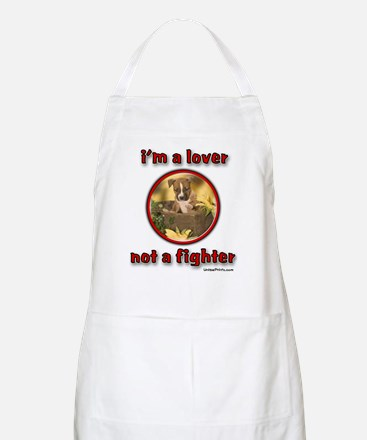i'm a lover not a fighter BBQ Apron