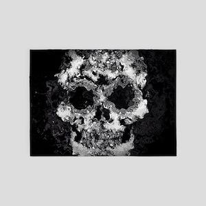 Wet Skull 5'x7'Area Rug
