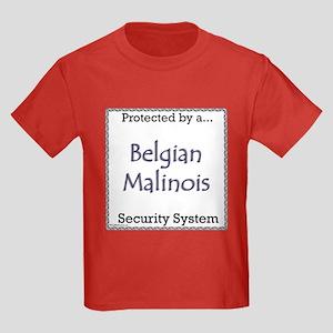 Malinois Security Kids Dark T-Shirt