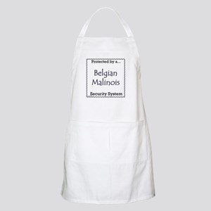 Malinois Security BBQ Apron