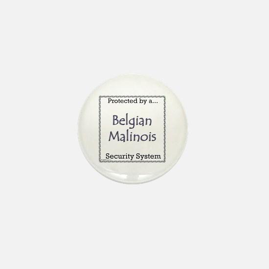 Malinois Security Mini Button