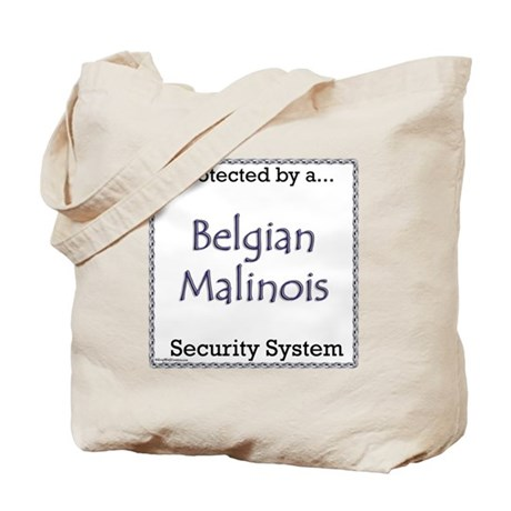 Malinois Security Tote Bag