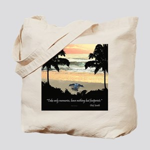 Costa Rica Turtle Hatchling Tote Bag