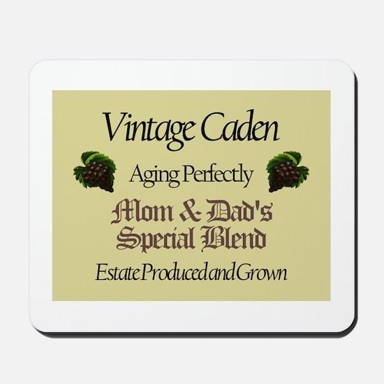 Vintage Caden Mousepad