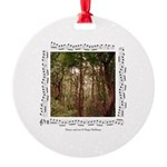 """""""Woods""""&forest Round Ornament"""