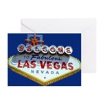 Welcome To Fabulous Las Vegas Cards (Pk of 10)