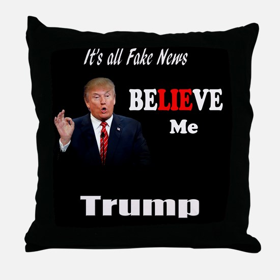 Trump Quote Throw Pillow