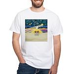 Christmas Star White T-Shirt