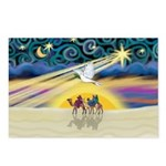 Christmas Star Postcards (Package of 8)