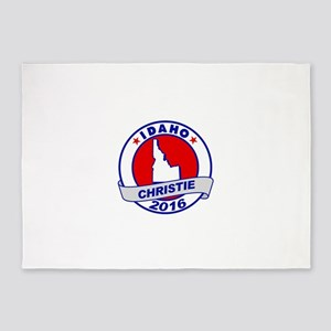 idaho Chris Christie Republican 2016 5'x7'Area