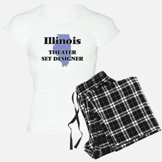 Illinois Theater Set Design Pajamas