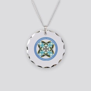 TN Ask Me About It Necklace Circle Charm