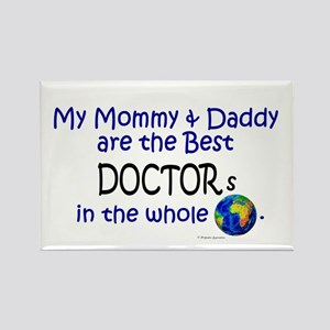 Best Doctors In The World Rectangle Magnet