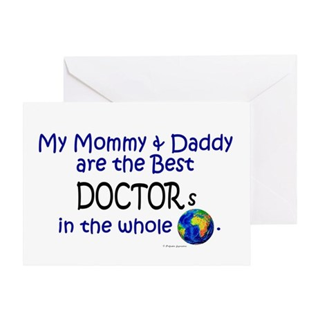 Best Doctors In The World Greeting Card