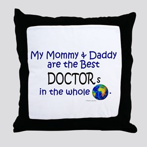 Best Doctors In The World Throw Pillow