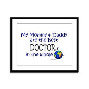 Best Doctors In The World Framed Panel Print
