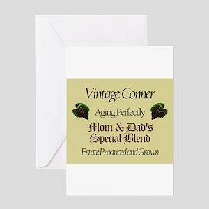 Vintage Conner Greeting Card