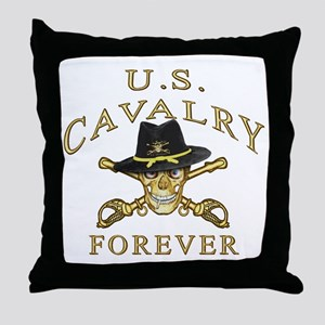 Cavalry Forever Throw Pillow