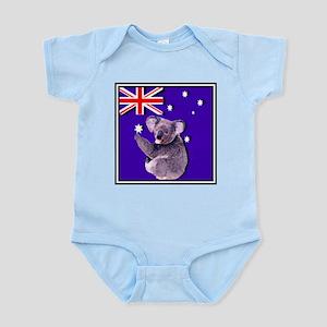 Australia Flag & KOALA Infant Bodysuit