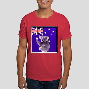 Australia Flag & KOALA Dark T-Shirt
