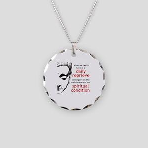 Spiritual Condition Necklace Circle Charm