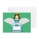 Ukrainian Angel Greeting Cards Eng (10 Pk)