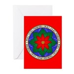 Peace to All Mankind Greeting Cards (10 pk)