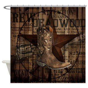 Cowgirl Shower Curtains