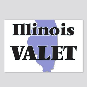 Illinois Valet Postcards (Package of 8)