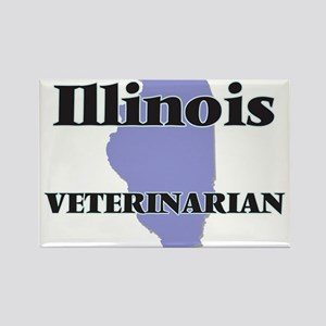 Illinois Veterinarian Magnets