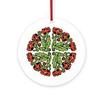 Ukrainian Poppies Ornament