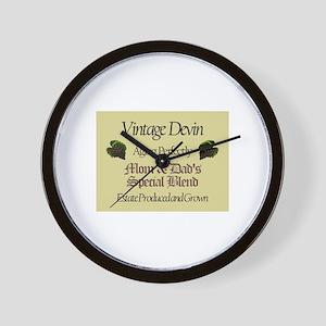 Vintage Devin Wall Clock