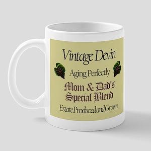Vintage Devin Mug