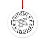 Borscht Tester Ornament (Round)